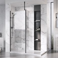 Roman Liberty Clear Glass Wetroom Panels
