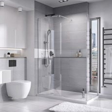 Roman Lumin8 Curved Wetroom Panels