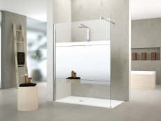 Novellini Kuadra H Mirror Shower Panel
