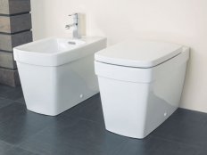 Silverdale Henley Back to Wall Bidet