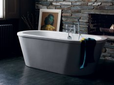 Britton Cleargreen Nouveau 1780 x 810mm Modern Bath