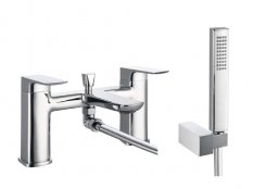 Marflow Carmani Deck Mounted Bath Shower Mixer with Kit