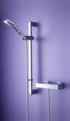 Bristan Quadrato Surface Mounted Bar Shower Valve