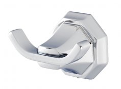 Perrin & Rowe Deco Double Robe Hook (6122)