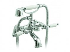 Vado Kensington 2 Hole Bath Shower Mixer with Shower Kit