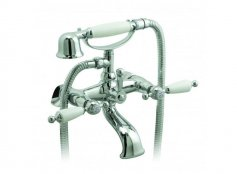 Vado Kensington Exposed Bath Shower Mixer with Shower Kit