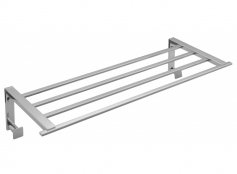 Vado Level Towel Shelf with Robe Hooks