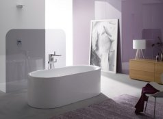 Bette Lux Oval I Silhouette Bath