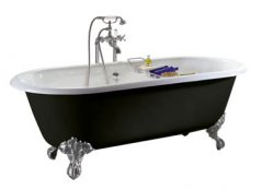 Heritage Baby Buckingham Freestanding Cast Iron Roll Top Bath
