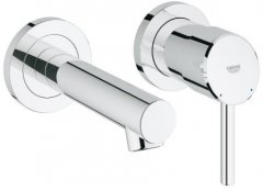 Concetto Wall Mounted Basin Mixer