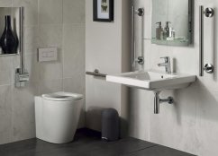 Ideal Standard Concept Freedom 60cm Basin and Raised Height BTW WC