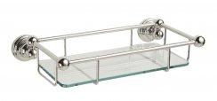 Perrin & Rowe Traditional 260mm Glass Shelf (6954)