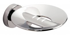 Bathroom Origins Tecno Project Metal Soap Dish With Holes - Chrome