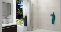 Merlyn 8 Series Folding Showerwall