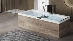 Novellini Divina Standard 1700 x 750mm Rectangular Bath