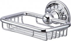 Burlington Bathrooms Chrome Soap Basket