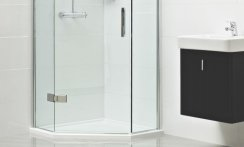 Roman 1200 x 900mm Neo Angle Shower Tray