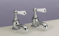 Silverdale Berkeley Bath Pillar Taps