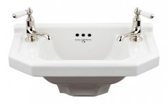 Perrin and Rowe Deco 52cm Cloakroom Basin