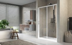 Novellini Lunes 2.0 2P 2 Part Slider Shower Enclosure