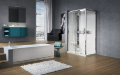 Novellini Glax 2P120x80 Thermostatic Sliding Shower Enclosure