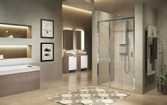 Novellini Lunes 2.0 3PH Three Sliding Panels Shower Enclosure