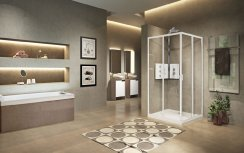 Novellini Lunes 2.0 A Corner Entry Shower Enclosure