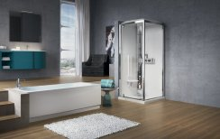 Novellini Glax GF80 Thermostatic Pivot Shower Enclosure
