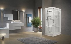 Novellini New Holiday 2P120 Standard Sliding Door Shower Enclosure