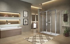 Novellini Lunes 2.0 2A Double Slider Shower Enclosure