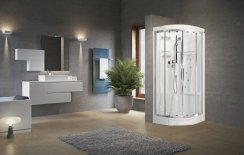 Novellini New Holiday R90 Standard Quadrant Shower Enclosure