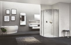Novellini Young 2.0 R1 Offset Quadrant Shower Enclosure
