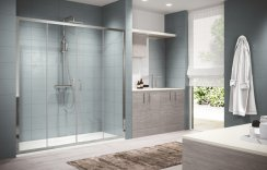 Novellini Zephyros 2A Double Sliding Shower Door