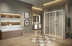 Novellini Lunes 2.0 3P 3 Part Sliding Door