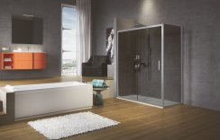 Novellini Zephyros 2P Sliding Shower Door