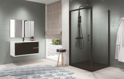 Novellini Zephyros G Hinged Shower Door