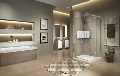 Novellini Lunes 2.0 AH Corner Entry Shower Enclosure