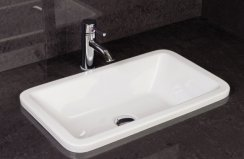 RAK Over Counter Basins 56cm Chameleon Over Counter Wash Basin