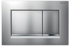 Geberit Sigma 30 Matt Chrome/Gloss Chrome/Matt Chrome Dual Flush Plate