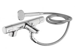 Sottini Rosita Thermostatic 2 Hole Bath Shower Mixer