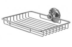 Burlington Bathrooms Chrome Large Soap Basket