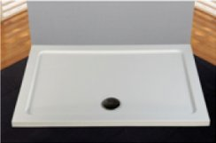 Novellini Low Profile Rectangle 1100 x 800mm Shower Tray