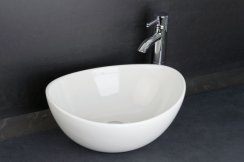 RAK Sit On Basins 39cm Shell Sit On Wash Basin