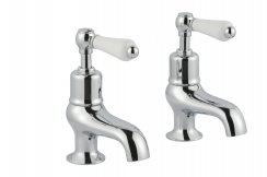 JTP Grosvenor Lever Chrome Bath Taps