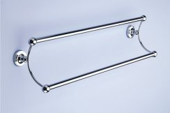 Silverdale Berkeley 525mm Double Towel Rail