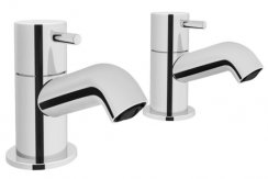 Vitra Minimax S Bath Pillar Taps