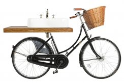 Arcade Pashley Bicycle Washstand with 60cm Basin and Shelf