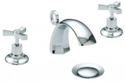 Heritage Gracechurch Basin Mixer (3 Tap Hole)