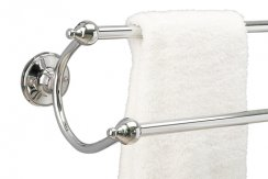 Miller Stockholm Long Double Towel Rail