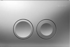 Geberit Delta 21 Matt Chrome Flush Plate